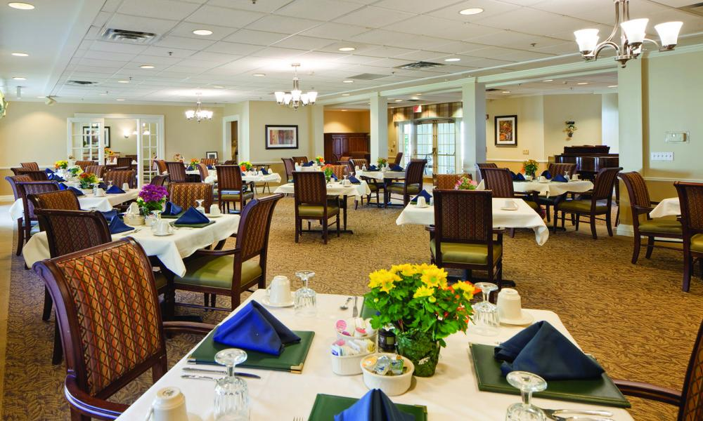 Dining Room at The Linden at Danvers