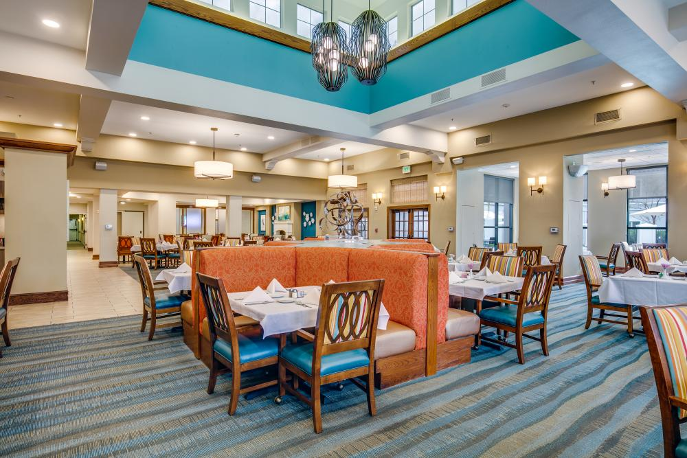 Dining Room At Fairwinds Woodward Park