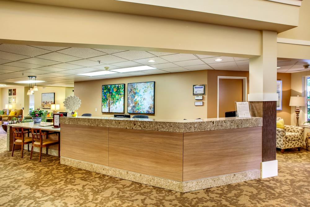 Reception - Canfield Place Retirement Community