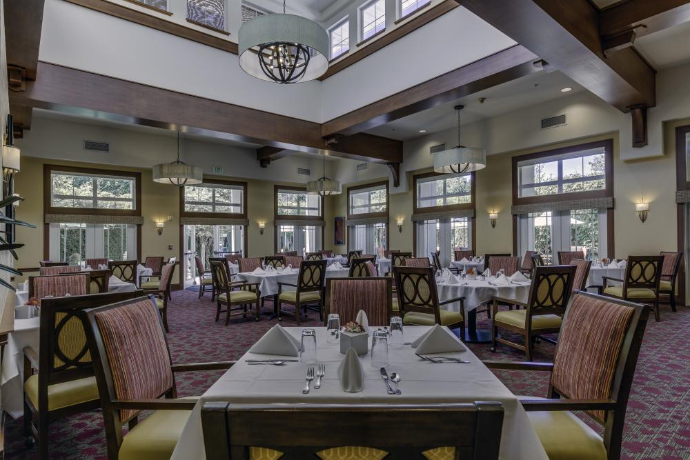Dining Room - Fairwinds - Brittany Park Retirement Community