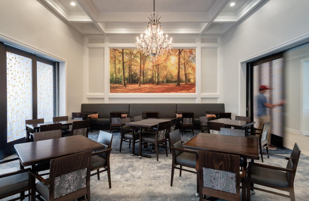 Dining Room at Treeo Raleigh