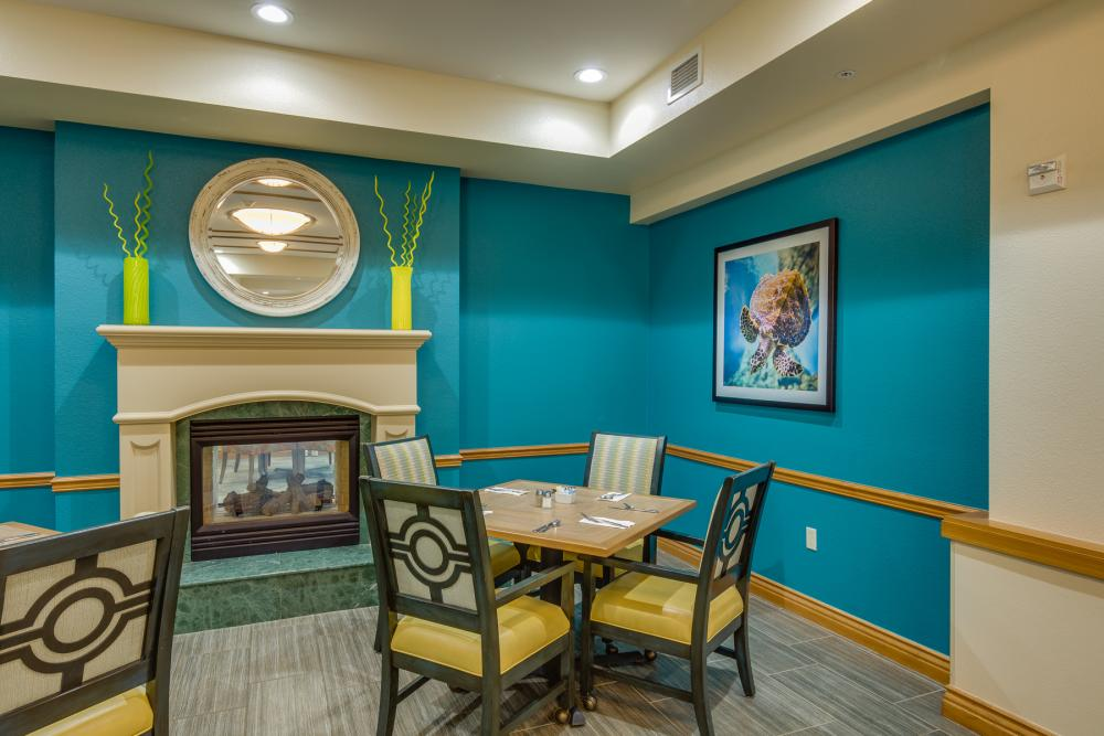 Private Dining Room - Fairwinds - Ivey Ranch Retirement Community