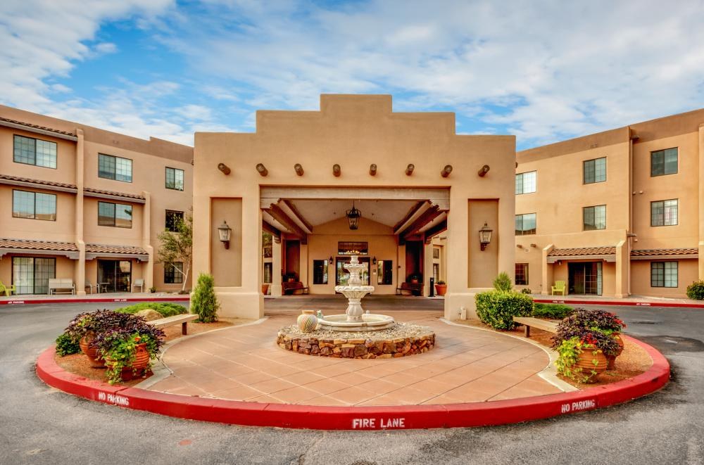 Entrance - Fairwinds - Rio Rancho Retirement community