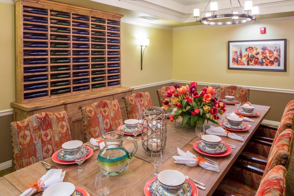 Private Dining Room - Fairwinds - West Hills Retirement Community