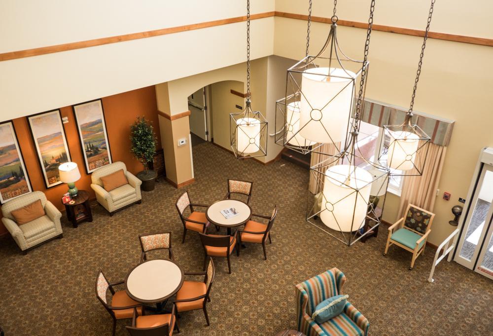 Lobby at Heritage Estates Retirement Community