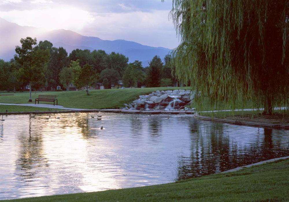 Pond - MacKenzie Place Retirement Community Colorado Springs