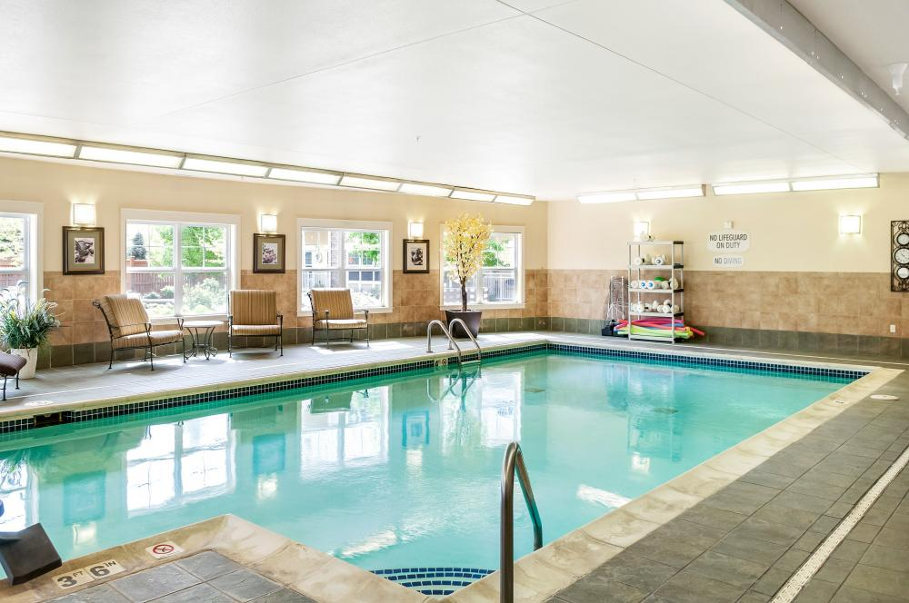 Indoor Pool - MacKenzie Place Retirement Community Fort Collins