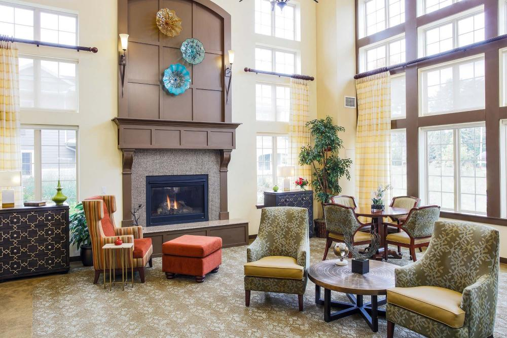 Lobby at The Village at Mill Landing