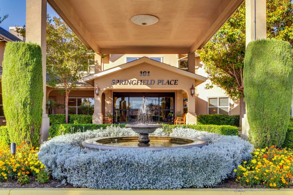 Entrance - Springfield Place Senior Living