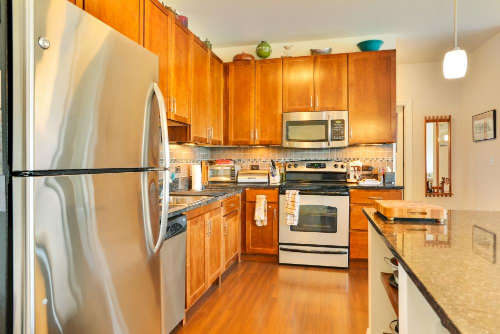 Kitchen - The Carillon at Boulder Creek Senior Apartments