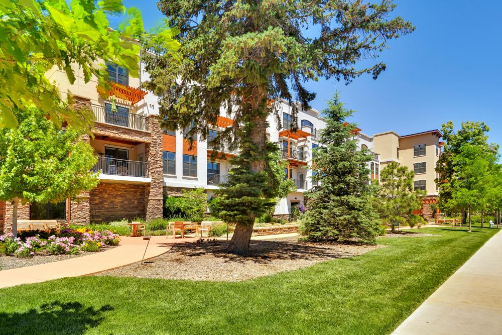 Exterior View - The Carillon at Boulder Creek Senior Apartments