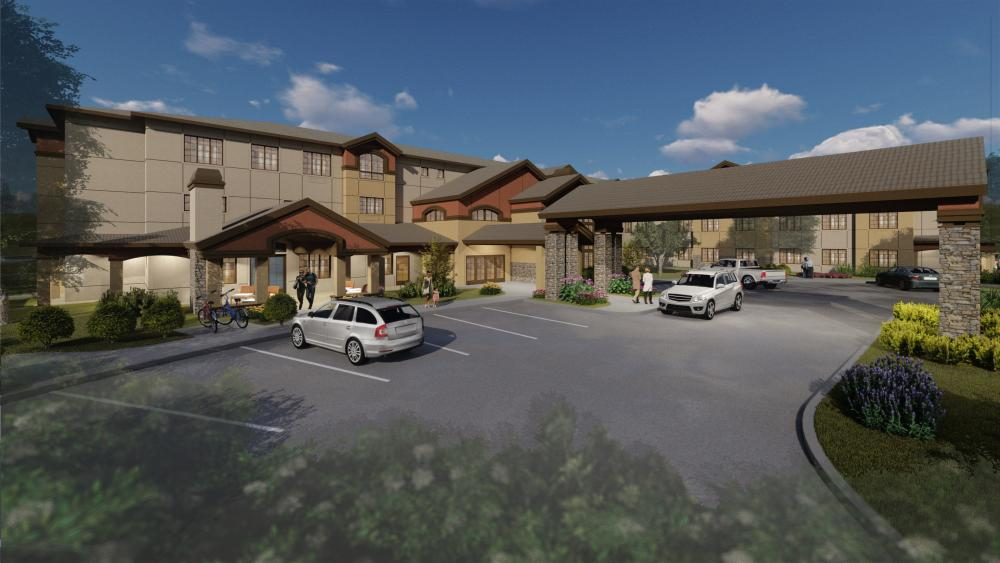 The Woodlake Rendering